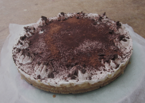 home made banoffee pie